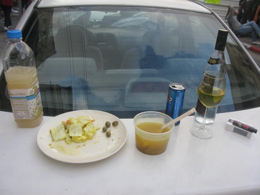 ארוחת רחוב
