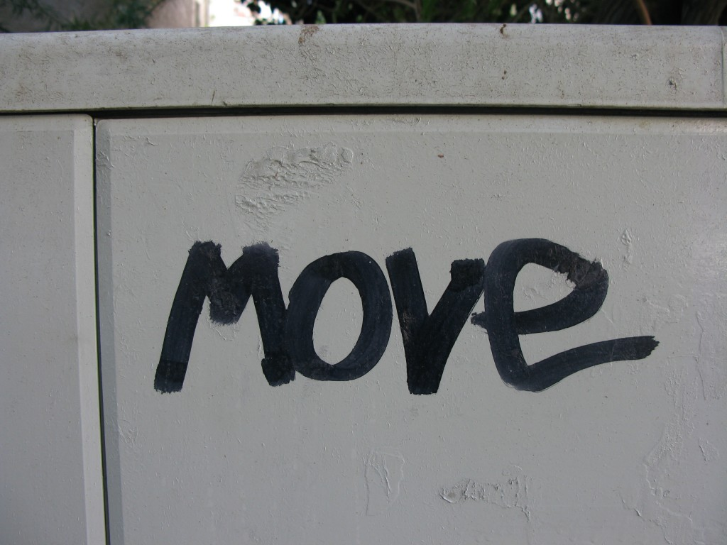 השאר רגוע המשך לנוע
